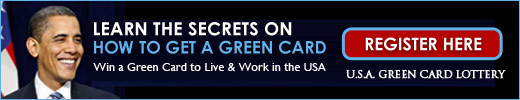Getting a Green Card with USAGreenCardLottery.org
